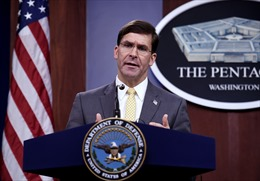 Lầu Năm góc công bố hướng dẫn đeo khẩu trang trong quân đội Mỹ