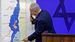 Thủ tướng Israel Netanyahu trình 4 kế hoạch sáp nhập Bờ Tây