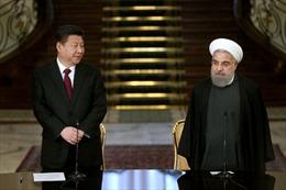 'Thỏa ước chiến lược' giúp Iran nhận 400 tỉ USD đầu tư từ Trung Quốc