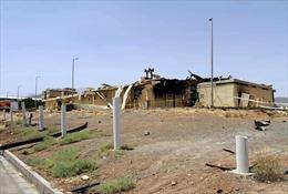 Lại xảy ra cháy, nổ tại một cơ sở khí đốt ở Iran