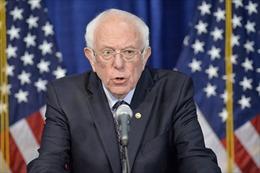 Thượng nghị sĩ Mỹ Berni Sander trình 'Dự luật khẩu trang' chặn COVID-19