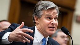Giám đốc FBI cảnh báo Trung Quốc can thiệp bầu cử Mỹ 2020