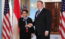 Mỹ, Indonesia đề cao tôn trọng luật pháp quốc tế ở Biển Đông