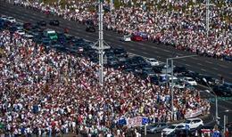 Belarus tập trận quy mô lớn trong bối cảnh biểu tình leo thang
