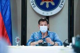 Tổng thống Philippines Duterte nói ông chớm ngưỡng ung thư giai đoạn 1