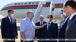 Tổng thống Belarus tới Nga gặp Tổng thống Putin