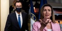 Chủ tịch Hạ viện Mỹ Nancy Pelosi bị phe Dân chủ chỉ trích vì bác gói cứu trợ 1.800 tỉ USD của ông Trump