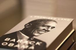 Hồi ký của ông Barack Obama lập kỷ lục trong ngày phát hành