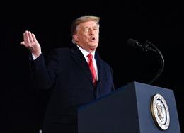 Tổng thống Trump rời Nhà Trắng với mức tín nhiệm thấp kỉ lục