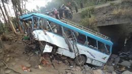 Tai nạn xe buýt nghiêm trọng tại Ethiopia, ít nhất 24 người thiệt mạng