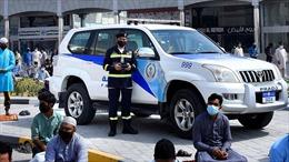 Cảnh sát UAE dùng máy bay không người lái giám sát giãn cách phòng COVID-19