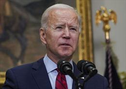 Tỉ lệ ủng hộ đối với Tổng thống Mỹ Joe Biden giảm