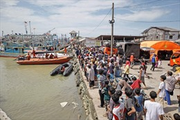Indonesia: Tàu hàng đâm tàu cá, 17 ngư dân mất tích