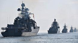 Tàu chiến Nga bắt đầu tập trận bắn đạn thật ở Biển Đen