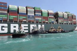 Ai Cập và chủ tàu Ever Given bất đồng về chi phí bồi thường tàu mắc cạn trên kênh đào Suez