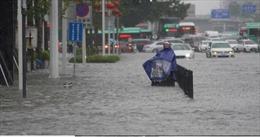 Chùm ảnh, video lũ lụt nghiêm trọng tại Trung Quốc do mưa lớn kỉ lục