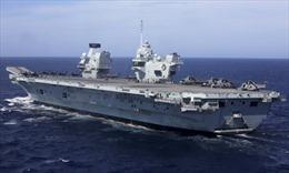 Trung Quốc cảnh báo 'biện pháp đáp trả' vụ tàu sân bay Anh vào Biển Đông