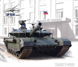 Nga lần đầu tiên thử nghiệm tăng T-90 M trang bị hệ thống quang điện tử