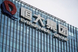 Cổ phiếu tập đoàn bất động sản Evergrande ngừng giao dịch trên sàn chứng khoán Hongkong