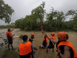 Chùm ảnh bão Kompasu - Bão số 8 gây mưa lớn, ngập lụt ở Philippines và Hongkong