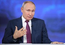 Tổng thống Nga Putin ca ngợi Trung Quốc là đối tác đáng tin cậy