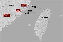 Trung Quốc cải tạo, xây dựng lớn tại 3 căn cứ không quân sát Đài Loan