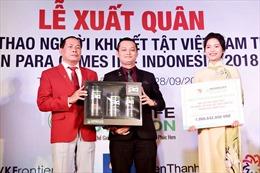 Lễ xuất quân của đoàn Việt Nam dự Asian Para Games 2018