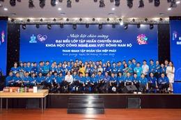 Lớp tập huấn chuyển giao Khoa học công nghệ tham quan tại Tân Hiệp Phát