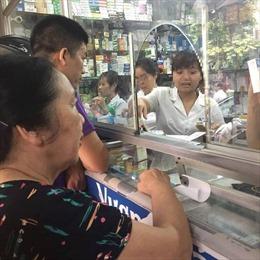 90% nhà thuốc tại Việt Nam bán thuốc kháng sinh không kê đơn