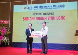 SHB khai trương chi nhánh mới tại Vĩnh Long