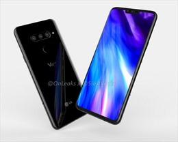 Lộ ảnh chính thức smartphone 5 camera của LG V40
