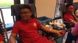 Người dân Hà Nội nô nức đi hiến máu bất chấp thời tiết nắng nóng
