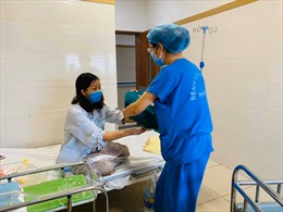 Đã có 5 'thiên thần' chào đời  tại Bệnh viện Bạch Mai