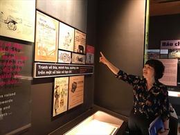 Bảo tàng Báo chí Việt Nam: Mỗi hiện vật kể một câu chuyện lịch sử