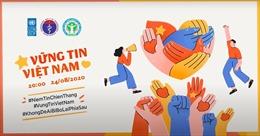 Bộ Y tế ra mắt MV ca nhạc 'Vững tin Việt Nam' tuyên truyền phòng dịch COVID-19