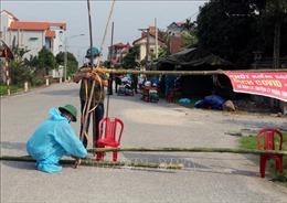 Chiều 29/4, Việt Nam ghi nhận 5 ca lây nhiễm trong cộng đồng từ BN2899