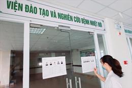 Bệnh viện Bệnh nhiệt đới Trung ương: Mang hòm phiếu đến từng khoa, đảm bảo quyền bầu cử cho bệnh nhân, cán bộ y tế