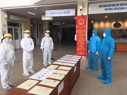 Bộ Y tế kiểm tra công tác bầu cử tại các bệnh viện đang cách ly