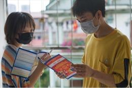 Sinh viên ở lại Hà Nội  tham gia bầu cử