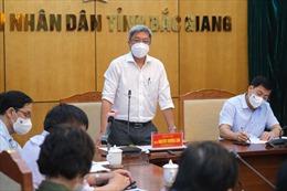 Đoàn Bộ Y tế khẩn cấp về Bắc Giang ngay trong đêm để hỗ trợ chống dịch COVID-19