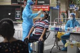 Trưa 25/8, Hà Nội phát hiện 50 ca dương tính mới, quận Thanh Xuân nhiều nhất với 23 ca