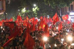 Xuyên đêm ăn mừng U23 Việt Nam chiến thắng