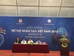 Hơn 100 nhà khoa học 'hiến kế' phát triển trí tuệ nhân tạo ở Việt Nam