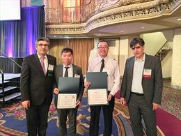 Nghiên cứu cải tiến ô tô điện của ĐH Bách khoa Hà Nội giành giải thưởng quốc tế