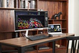 Samsung ra mắt màn hình cong QLED Thunderbolt 3 đầu tiên trên thế giới