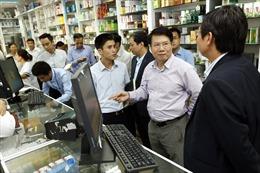 Chỉ 43,6% cơ sở bán lẻ thuốc ở Hà Nội có kết nối liên thông
