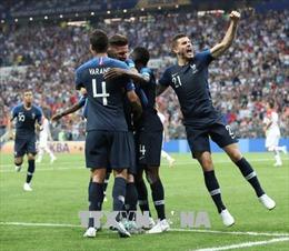 Đây là những hình ảnh của đội tuyển Pháp -đương kim vô địch World Cup 2018