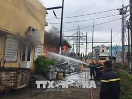 Cháy lớn tại trạm biến áp 110 KV, thành phố Bắc Ninh bị mất điện diện rộng