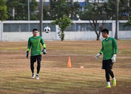 ASIAD 2018: U23 Việt Nam lại khốn khổ với sân tập trước trận ra quân gặp U23 Pakistan