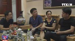 Thăm nhà cầu thủ Văn Toàn tại Hải Dương